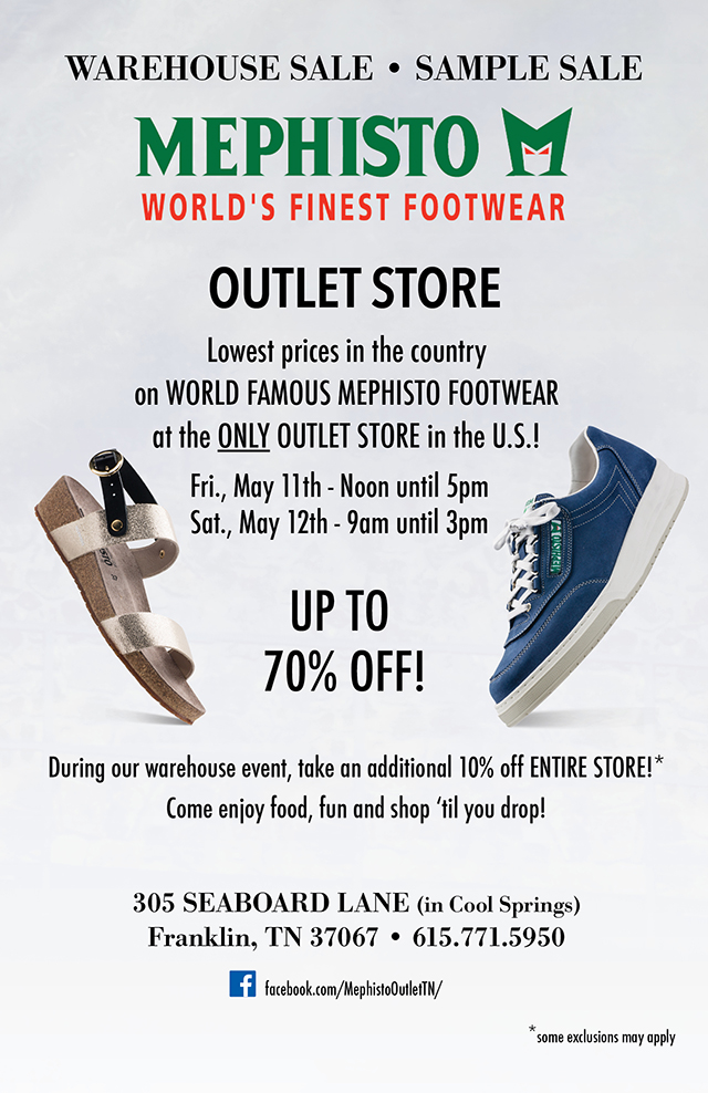 2bb40222bf Outlet Store: Warehouse – Sample Sale – MEPHISTO USA